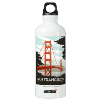 San Francisco, CA - Golden Gate Bridge SIGG Traveller 0.6L Water Bottle