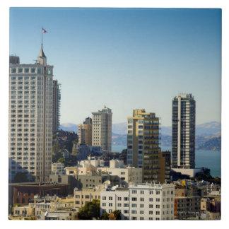 San Francisco, CA Large Square Tile