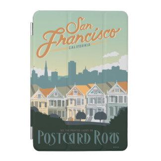 San Francisco, CA - Postcard Row iPad Mini Cover