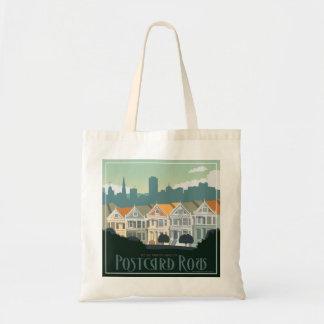 San Francisco, CA - Postcard Row Tote Bag