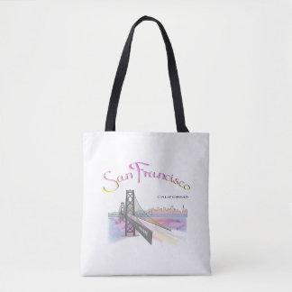 San Francisco, CA, Rainbow, Cool Tote Bag