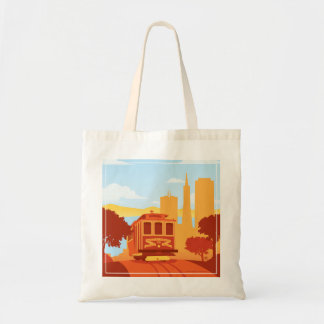San Francisco, CA - The City by the Bay Budget Tote Bag