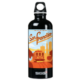 San Francisco, CA - The City by the Bay SIGG Traveller 0.6L Water Bottle