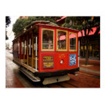 San Francisco Cable Car 2013 Calendar Postcard