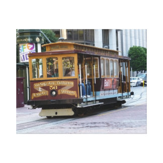 San Francisco Cable Car Gallery Wrapped Canvas