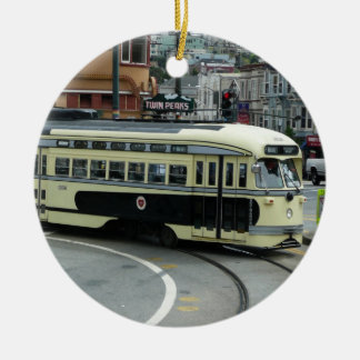 San Francisco Cable Car Christmas Ornament