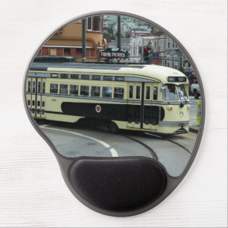 San Francisco Cable Car City Scene Photography Gel Mouse Pad