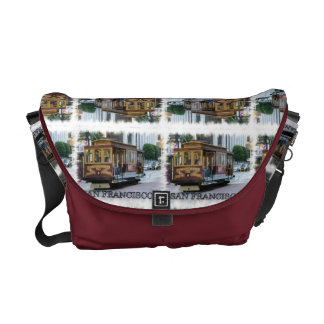 San Francisco Cable Car Courier Bags