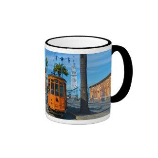 San Francisco Cable Car & Ferry Building Coffee Mug