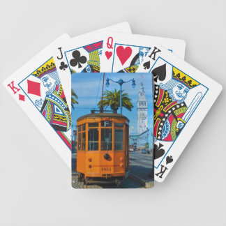 San Francisco Cable Car Ferry Building Bicycle Card Deck