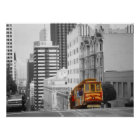 San Francisco Cable Car - Highlight Photo Art Poster