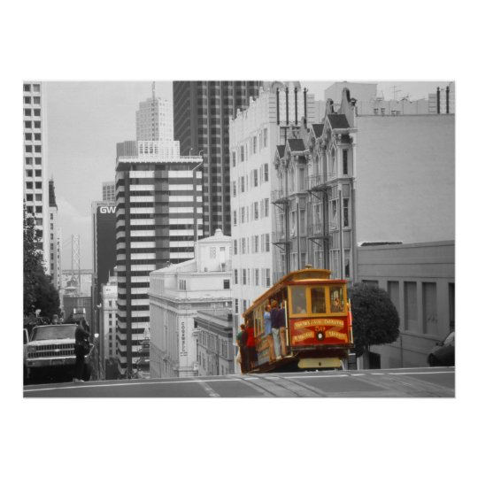 San Francisco Cable Car – Highlight Photo Art