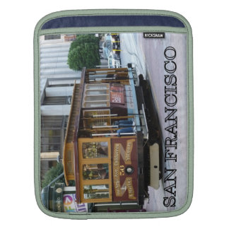 San Francisco Cable Car Sleeve For iPads