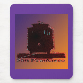 San Francisco Cable Car Mouse Pad