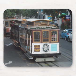 San Francisco Cable Car Mouse Pad