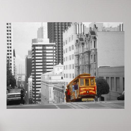 San Francisco Cable Car – Photo Art Poster Print