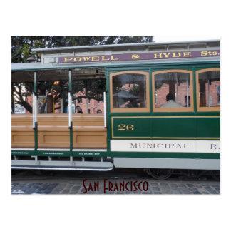 San Francisco Cable Car Postcard