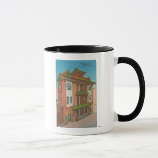 San Francisco, CAKong Chow Temple in Chinatown Mug