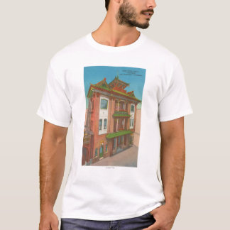 San Francisco, CAKong Chow Temple in Chinatown T-Shirt