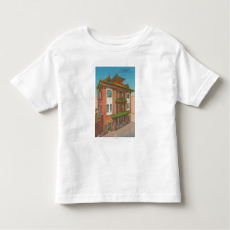 San Francisco, CAKong Chow Temple in Chinatown Toddler T-Shirt