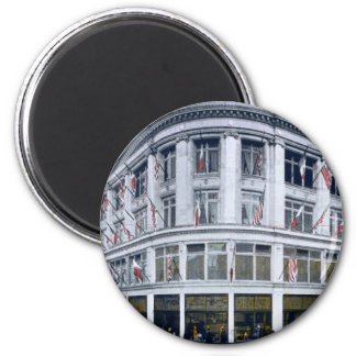 San Francisco, Cal. The White House 6 Cm Round Magnet