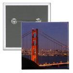 San Francisco, California 15 Cm Square Badge