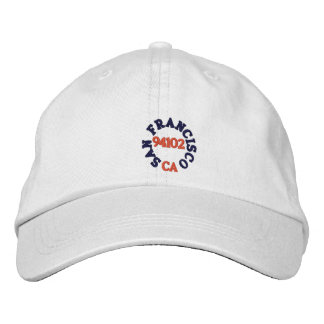 SAN FRANCISCO CALIFORNIA, 94102 BASEBALL CAP