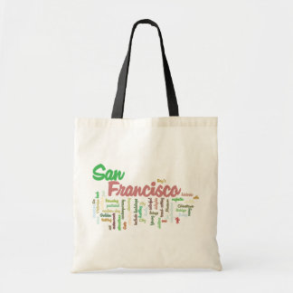 San Francisco, California Tote Bag