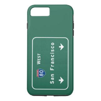 San Francisco California ca Interstate Highway : iPhone 8 Plus/7 Plus Case