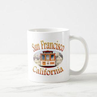 San Francisco California Cable Car Mug