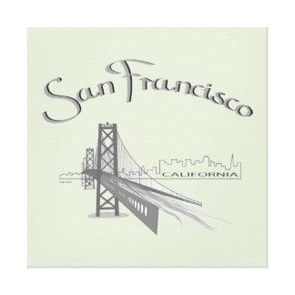San Francisco, California Canvas Print