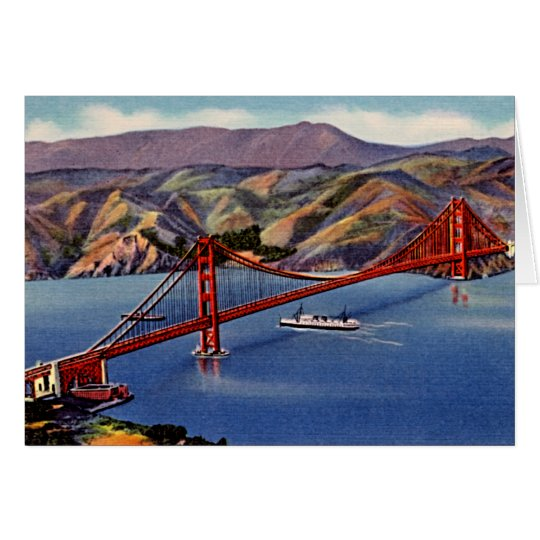 San Francisco, California Card