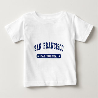 San Francisco California College Style tee shirts