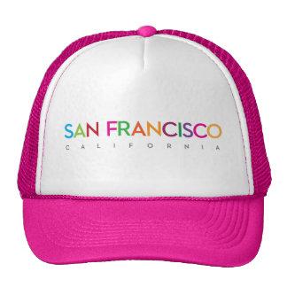 San Francisco, California Colour Hat
