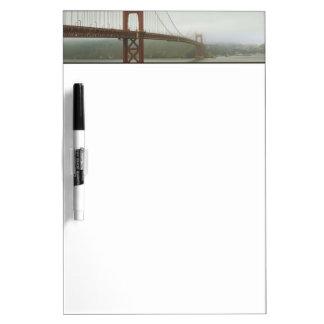 San Francisco, California Dry Erase Board