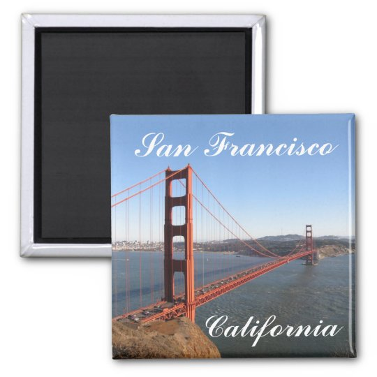 San Francisco California Fridge Magnet