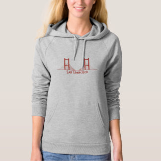 San Francisco California Golden Gate Bridge Hoodie