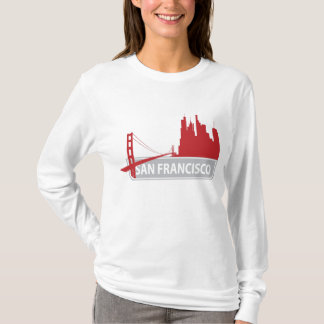 San Francisco California Golden Gate Bridge Tee