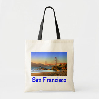 San Francisco, California Golden Gate Bridge Tote Budget Tote Bag