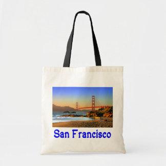 San Francisco, California Golden Gate Bridge Tote Budget Tote Bag