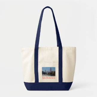 San Francisco, California Golden Gate Bridge Tote Impulse Tote Bag
