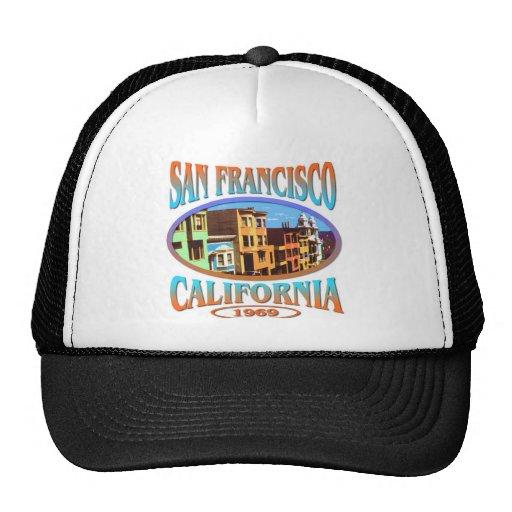 San Francisco California Mesh Hats