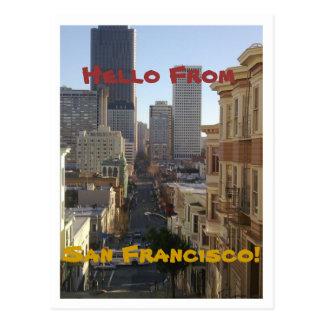 San Francisco, California Post Card