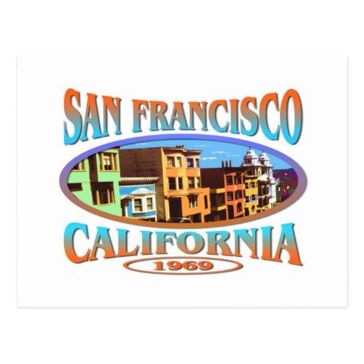 San Francisco California Post Card