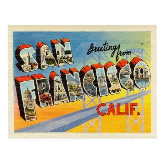 San Francisco California Postcard