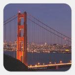 San Francisco, California Square Sticker