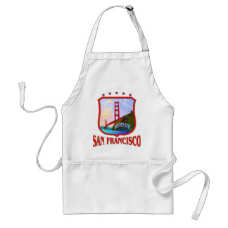 San Francisco California Standard Apron