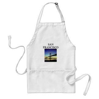 san francisco california standard apron