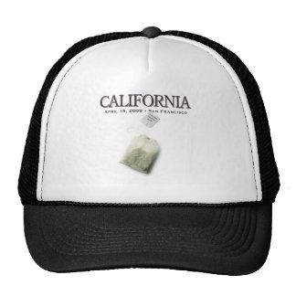 San Francisco California Tea Party Trucker Hat