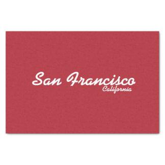San Francisco, California Tissue Paper